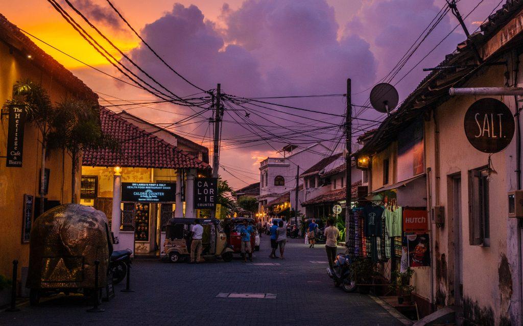 Sri Lanka steden