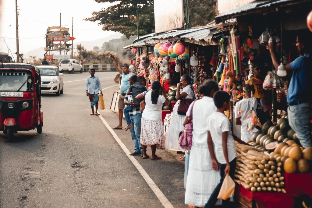Kandy in Sri Lanka