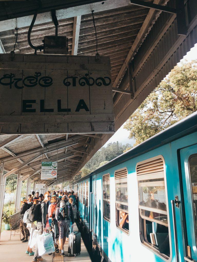 Sri Lanka Backpackroute